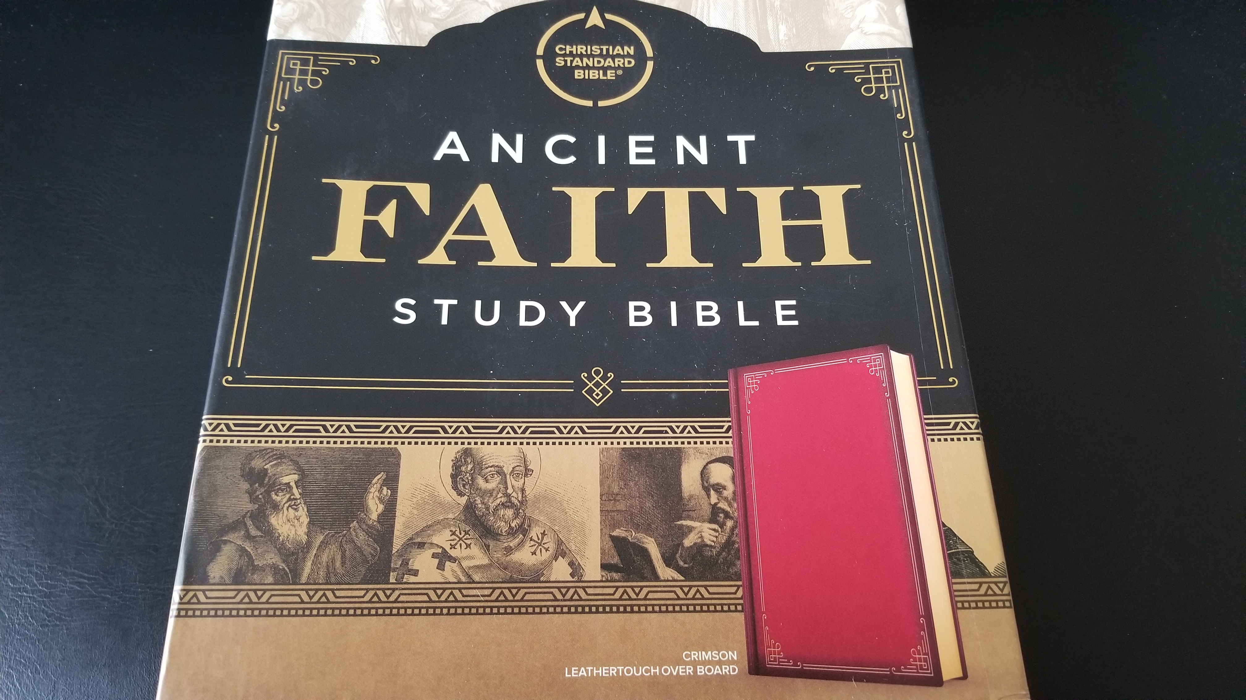 First Look: Ancient Faith Study Bible from Holman Bibles – Catholic